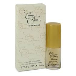 Celine Dion Signature Perfume by Celine Dion 0.38 oz Eau De Toilette Spray
