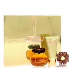 Covet Perfume by Sarah Jessica Parker -- Gift Set - 3.4 oz Eau De Parfum Spray + 2.5 oz Body Loiton + Perfume Compact