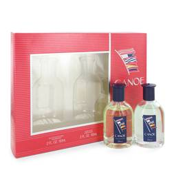 Canoe Cologne by Dana -- Gift Set - 2 oz Eau De Toilette Spray + 2 oz After Shave