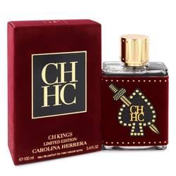 Ch Kings Cologne by Carolina Herrera 3.4 oz Eau De Parfum Spray (Limited Edition Bottle)