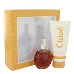 Chloe Perfume by Chloe -- Gift Set - 3 oz Eau De Toilette Spray + 6.8 oz Body Lotion