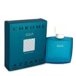 Chrome Aqua Cologne by Azzaro 1.7 oz Eau De Toilette Spray