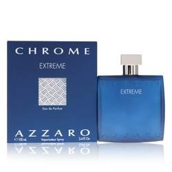 Chrome Extreme Cologne by Azzaro 3.4 oz Eau De Parfum Spray