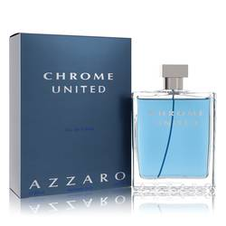 Chrome United Cologne by Azzaro 6.8 oz Eau De Toilette Spray