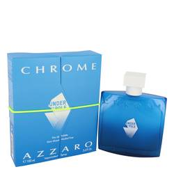 Chrome Under The Pole Cologne by Azzaro 3.4 oz Eau De Toilette Spray
