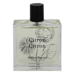 Citron Citron Perfume by Miller Harris 3.4 oz Eau De Parfum Spray (unboxed)