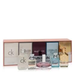 Ck One Perfume by Calvin Klein -- Gift Set - .33 oz Mini EDT CK One + .16 oz Mini EDP in Eternity for Women + .13 oz Mini EDP in Euphoria + .16 oz Mini EDP in Eternity Air + .33 oz Mini EDT in CK One Gold