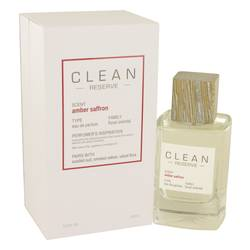 Clean Amber Saffron Perfume by Clean 3.4 oz Eau De Parfum Spray