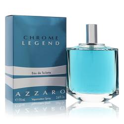 Chrome Legend Cologne by Azzaro 2.6 oz Eau De Toilette Spray