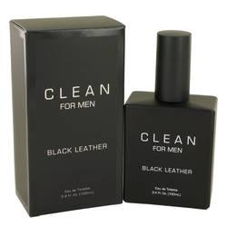 Clean Black Leather Cologne by Clean 3.4 oz Eau De Toilette Spray