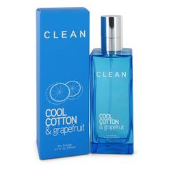 Clean Cool Cotton & Grapefruit Perfume by Clean 5.9 oz Eau Fraiche Spray