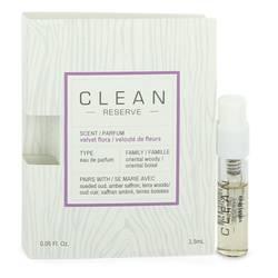 Clean Velvet Flora Perfume by Clean 0.05 oz Vial (sample)