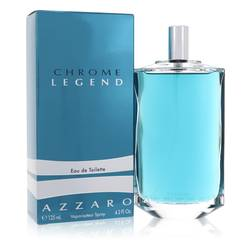 Chrome Legend Cologne by Azzaro 4.2 oz Eau De Toilette Spray