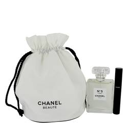Chanel No. 5 L'eau Perfume by Chanel -- Gift Set - 3.4 oz Eau De Toilette Spray + Le Volume 10 Mascara in Gift Pouch