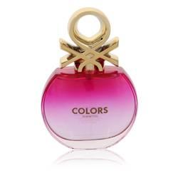 Colors Pink Perfume by Benetton 2.7 oz Eau De Toilette Spray (unboxed)