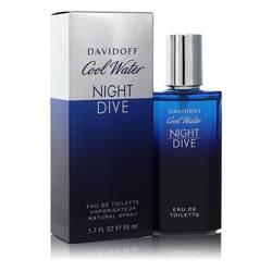 Cool Water Night Dive Cologne by Davidoff 1.7 oz Eau De Toilette Spray