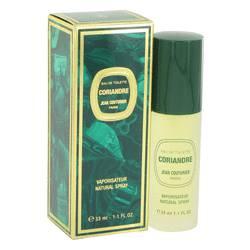 Coriandre Perfume by Jean Couturier 1.1 oz Eau De Toilette Spray
