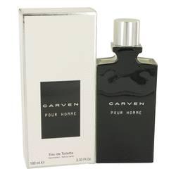 Carven Pour Homme Cologne by Carven 3.4 oz Eau De Toilette Spray
