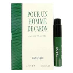 Caron Pour Homme Cologne by Caron 0.06 oz Vial (sample)