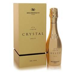 Crystal Gold Cologne by Molsheim & Co 3.4 oz Eau De Parfum Spray