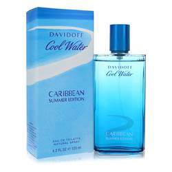 Cool Water Caribbean Summer Cologne by Davidoff 4.2 oz Eau De Toilette Spray