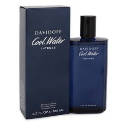 Cool Water Intense Cologne by Davidoff 4.2 oz Eau De Parfum Spray