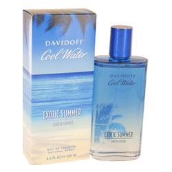 Cool Water Exotic Summer Cologne by Davidoff 4.2 oz Eau De Toilette Spray (limited edition)