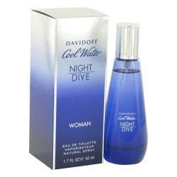 Cool Water Night Dive Perfume by Davidoff 1.7 oz Eau De Toilette Spray