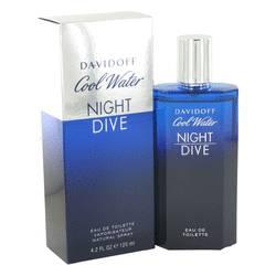 Cool Water Night Dive Cologne by Davidoff 4.2 oz Eau De Toilette Spray