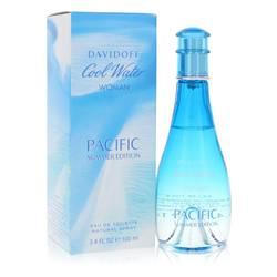Cool Water Pacific Summer Perfume by Davidoff 3.4 oz Eau De Toilette Spray