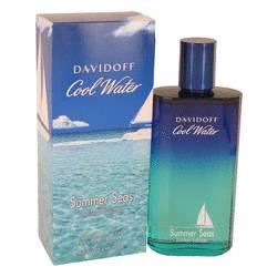Cool Water Summer Seas Cologne by Davidoff 4.2 oz Eau De Toilette Spray