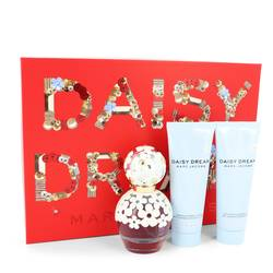 Daisy Dream Perfume by Marc Jacobs -- Gift Set - 1.7 oz Eau De Toilette Spray + 2.5 oz Body Lotion +2.5 oz Shower Gel