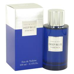 Deep Blue Essence Cologne by Weil 3.3 oz Eau De Toilette Spray