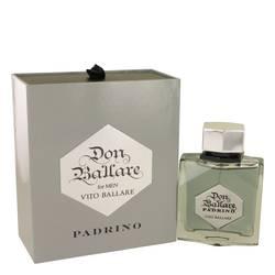 Don Ballare Padrino Cologne by Vito Ballare 3.3 oz Eau De Toilette Spray