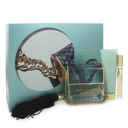 Divine Decadence Perfume by Marc Jacobs -- Gift Set - 3.4 oz Eau De Parfum Spray + .33 oz Mini EDP Rollerball + 2.5 oz Body Lotion