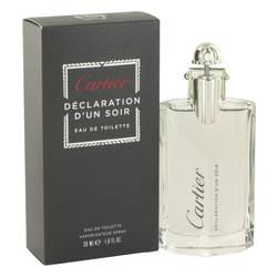 Declaration D'un Soir Cologne by Cartier 1.7 oz Eau De Toilette Spray
