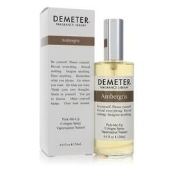Demeter Ambergris Cologne by Demeter 4 oz Pick Me Up Cologne Spray (Unisex)