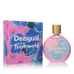 Desigual Fresh World Perfume by Desigual 3.4 oz Eau De Toilette Spray
