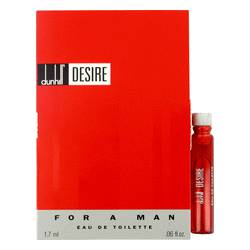 Desire Cologne by Alfred Dunhill 0.06 oz Vial (sample)
