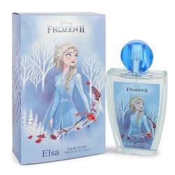 Disney Frozen Ii Elsa Perfume by Disney 3.4 oz Eau De Toilette Spray