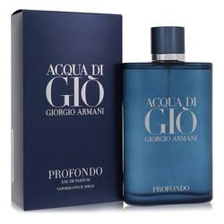 Acqua Di Gio Profumo Cologne by Giorgio Armani 6 oz Eau De Parfum Spray