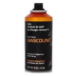 Designer Imposters Mascolino Cologne by Parfums De Coeur 4 oz Body Spray (Tester)