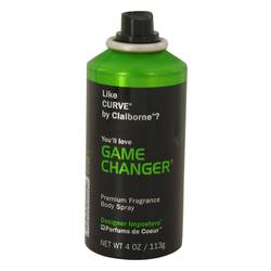 Designer Imposters Game Changer Cologne by Parfums De Coeur 4 oz Body Spray (Tester)