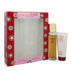 Diamonds & Rubies Perfume by Elizabeth Taylor -- Gift Set - 3.3 oz Eau De Toilette Spray + 3.3 oz Body Lotion