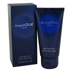 Due Cologne by Laura Biagiotti 2.5 oz After Shave Balm