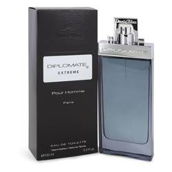 Diplomate Pour Homme Extreme Cologne by Paris Bleu, 3.4 oz Eau De Toilette Spray for Men