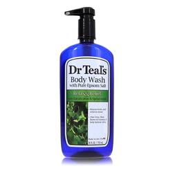 Dr Teal's Body Wash With Pure Epsom Salt Body Lotion by Dr Teal's, 710 ml Body Wash with pure epsom salt with eucalyptus & Spearmint for Women