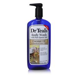 Dr Teal's Body Wash With Pure Epsom Salt Perfume by Dr Teal's 24 oz Body Wast with pure epsom salt with Coconut oil