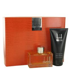 Dunhill Pursuit Cologne by Alfred Dunhill -- Gift Set - 2.5 oz Eau De Toilette Spray + 5 oz After Shave Balm