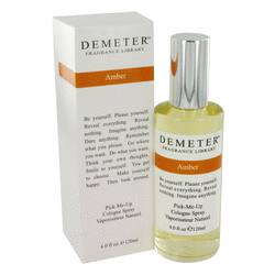 Demeter Perfume by Demeter 4 oz Amber Cologne Spray